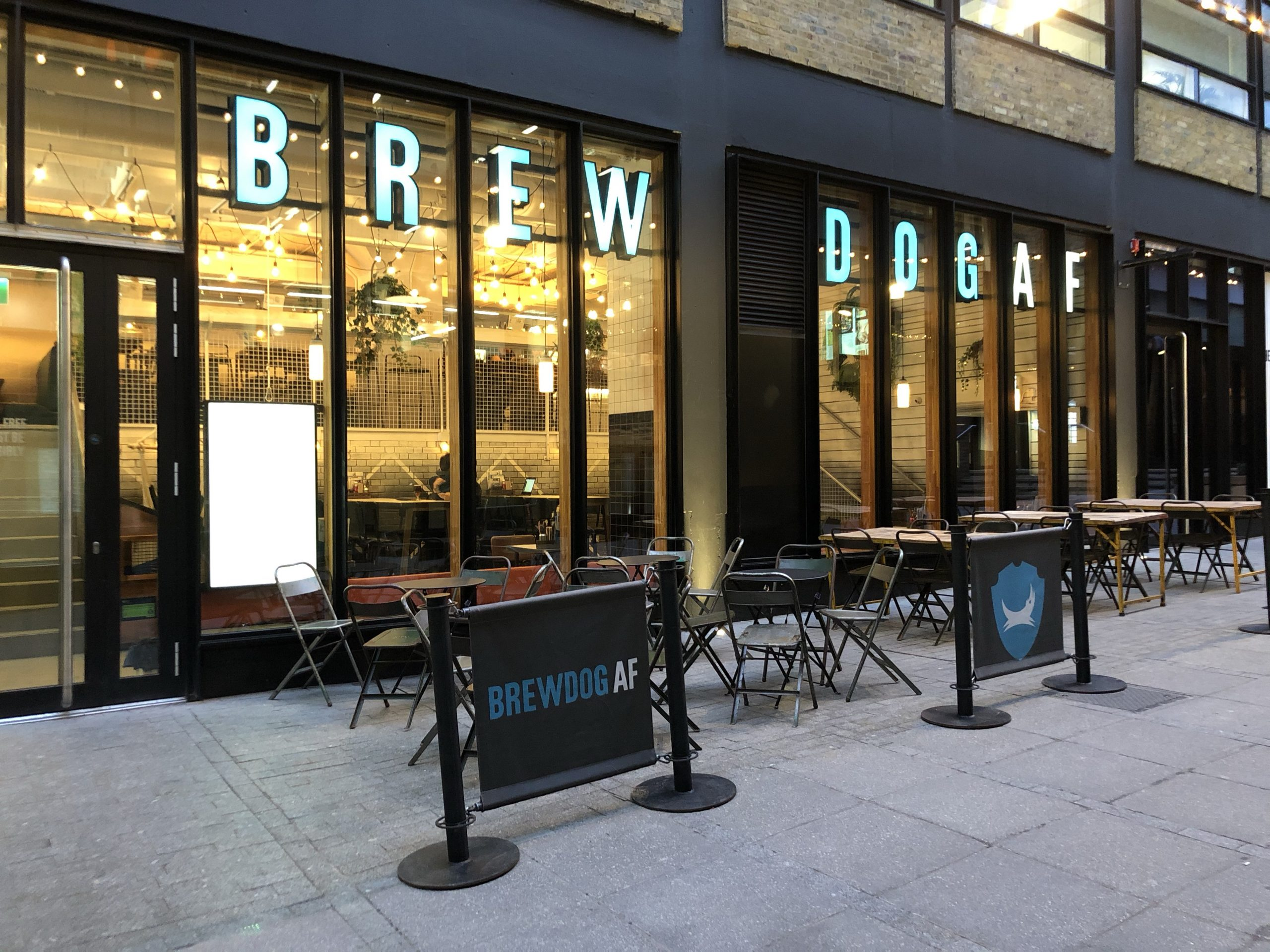 Besuch in London bei Brewdog AF