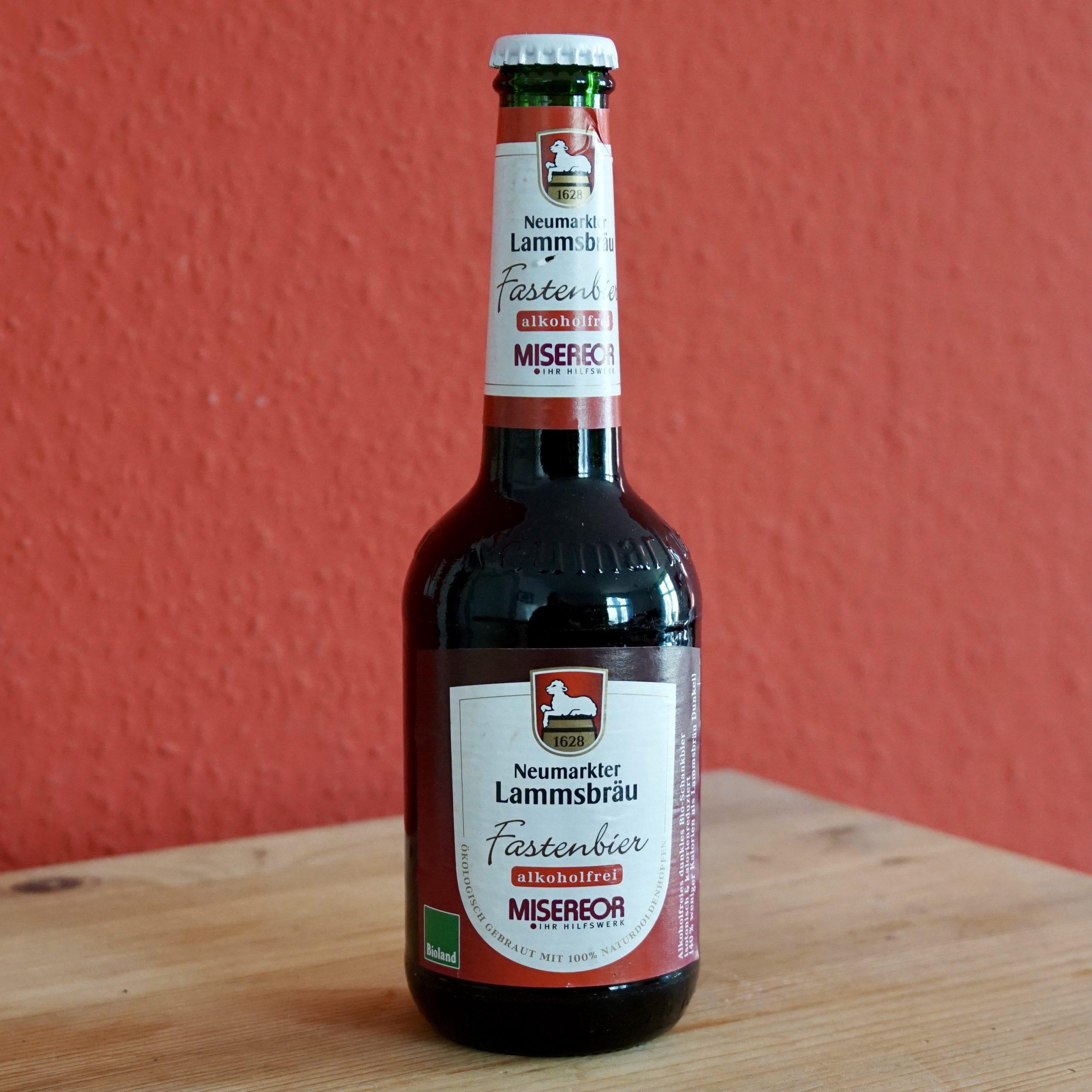 Lammsbräu Fastenbier alkoholfrei Bierprediger