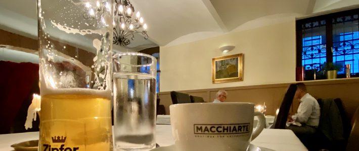 Viel Kaffee und weniger Bier beim Besuch in Wien